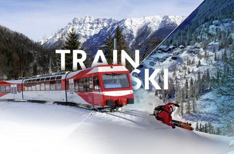 Train + ski aux Marécottes