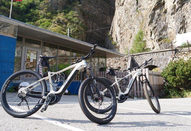 Location e-bikes - Gorges du Trient